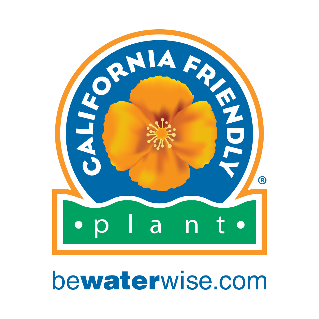 California Friendly Plant Logo