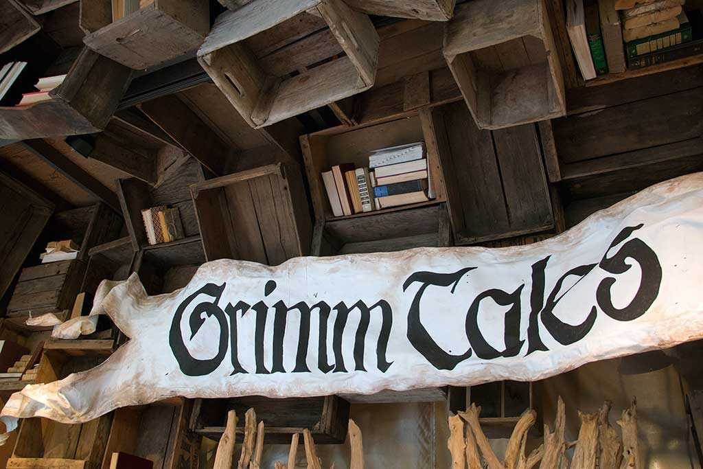 An image of the Grimm Tales Banner for Halloween 2016