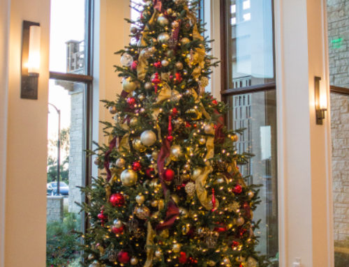 Newport Beach Country Club Christmas Décor