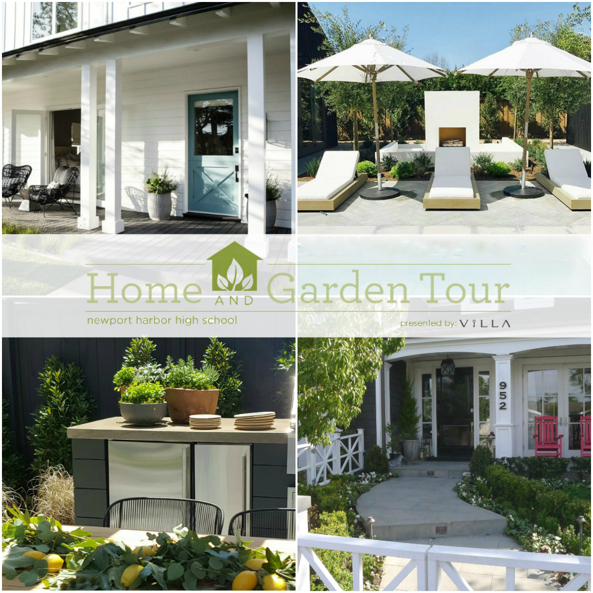 An image of a Home Tour 2018 Collage