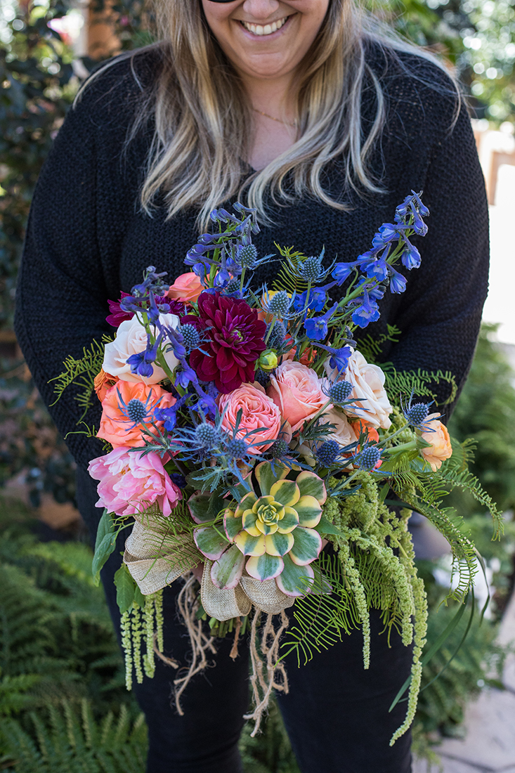 An image of various colored flowers floral bouquets