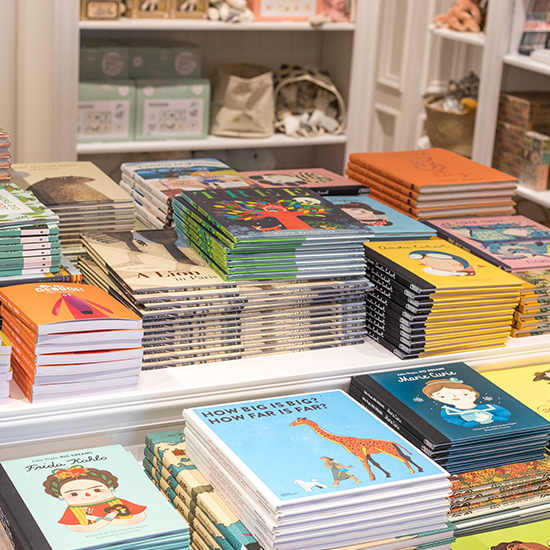 An image of various children books