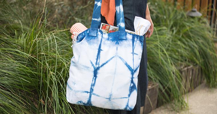 Indigo & Shibori Natural Dye Handbag workshop
