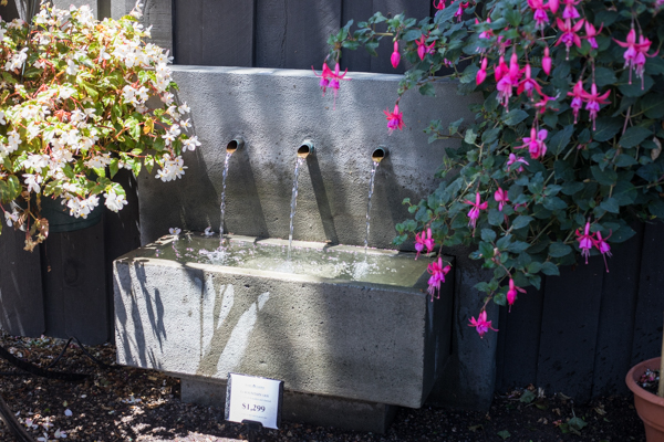 An image of a three spout fountain