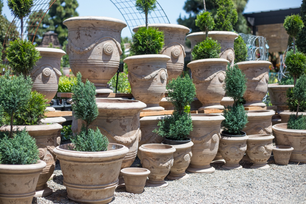 An image of light tan pots