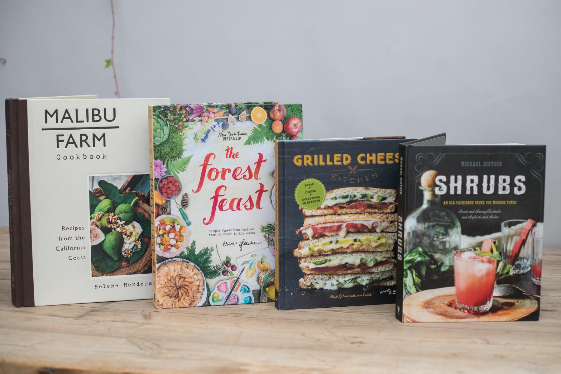 gourmet food rogers gardens cookbooks the forest feast malibu farm cookbook grilled cheese shrubs