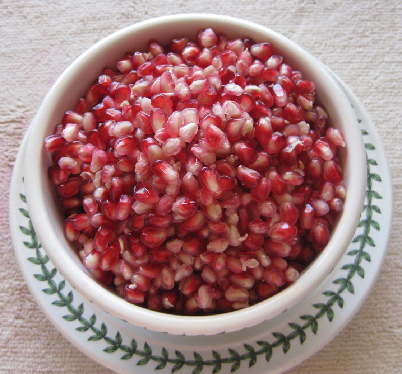 Angel Red Pomegranate Seeds Fruit Roger's Garden Monrovia Newport beach