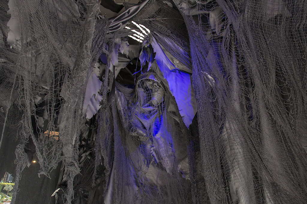 An image of a dementor for Halloween 2018