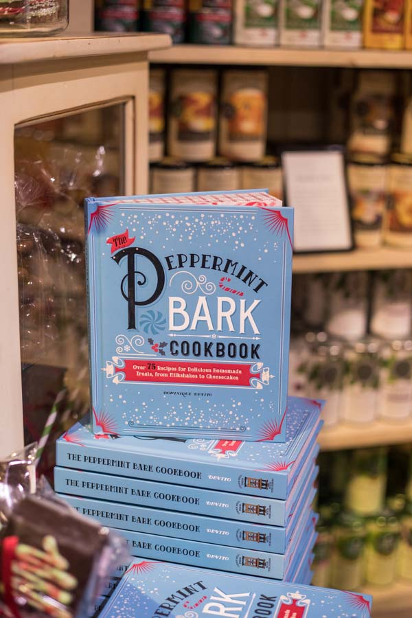 An image of the peppermint bark cookbook