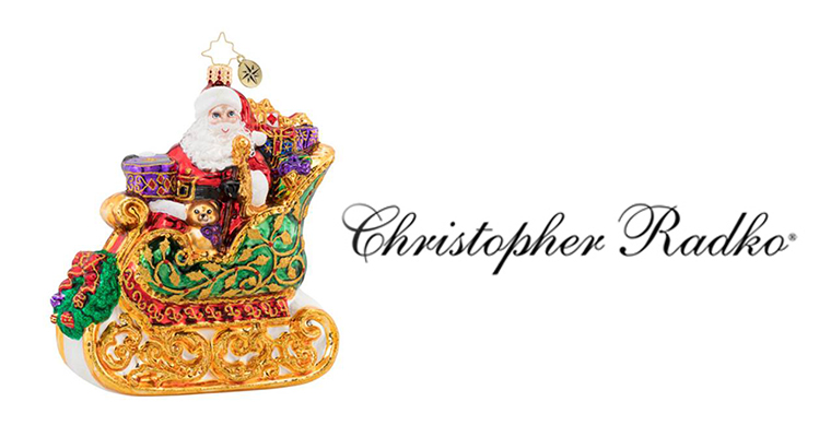 Christopher Radko Event and Ornament Signing