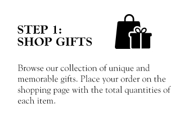 An image of Step 1: Shop Gifts