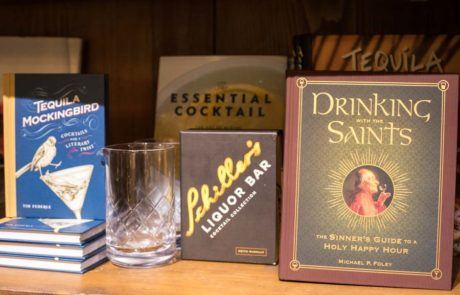 An image of drinking books for Holiday Season