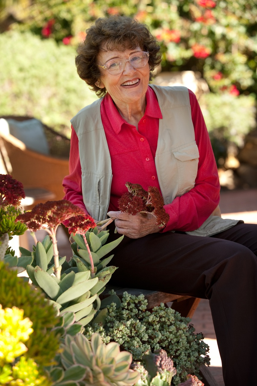 An image of Pat Welsh for the Create Your Own Paradise Garden Seminar
