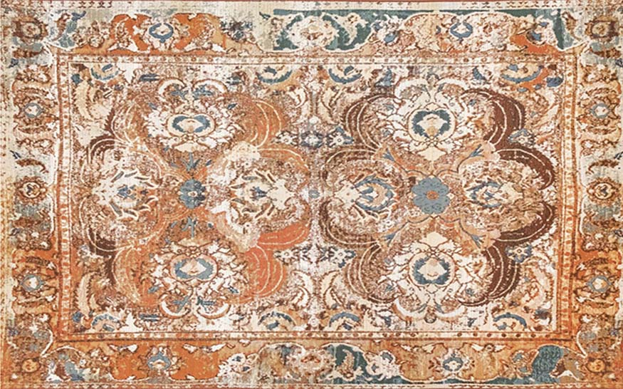 An image of a elaborate patterned rug