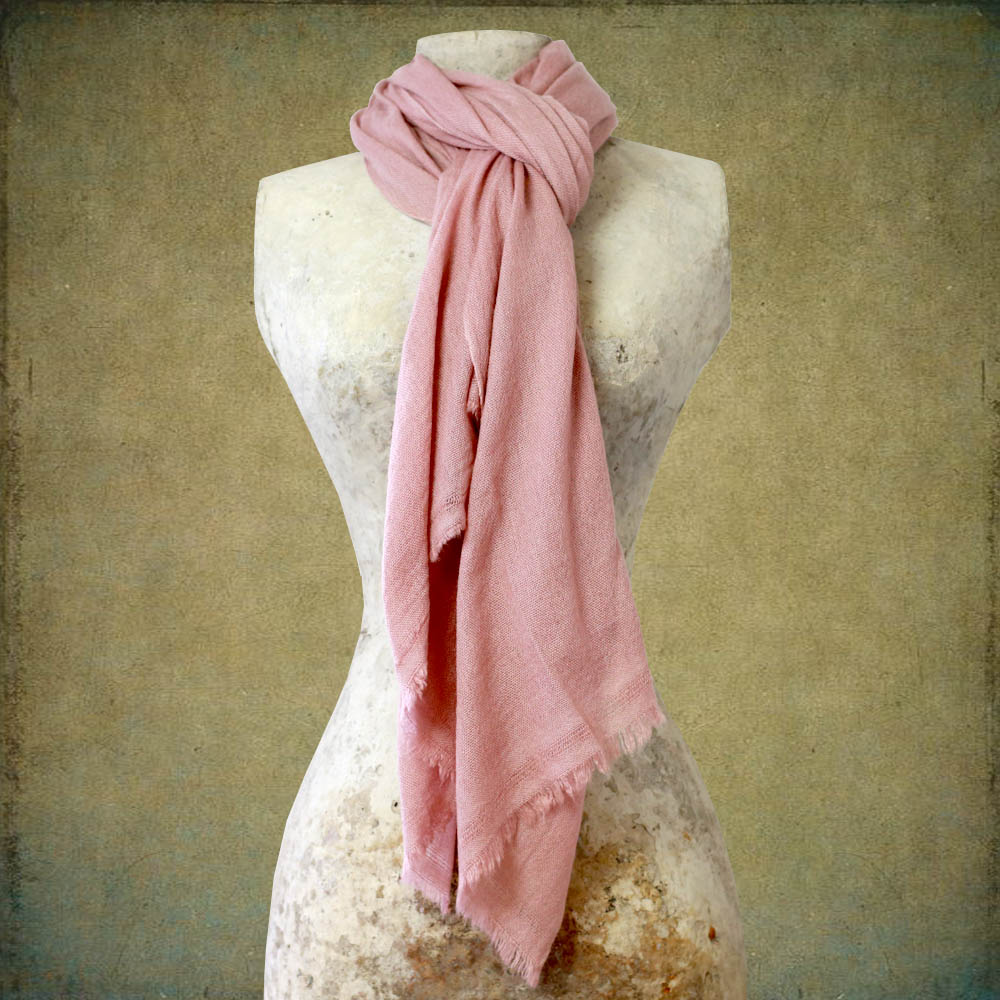 An image of a pink scarf