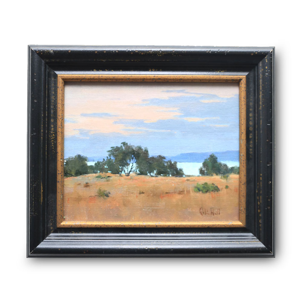 The Bay Oil on Linen Board 8″ x 10″ $1400