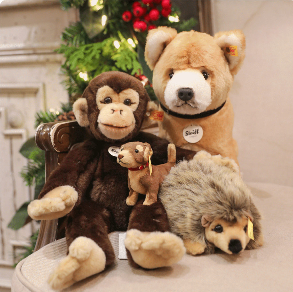 Plush Assorted Animals in Children's Gift Boutique