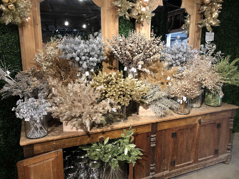Gold Stems Silk Botanicals