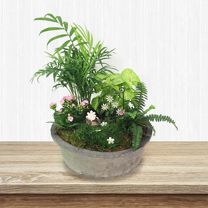 Spring Miniature Garden