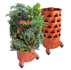 garden tower with casters